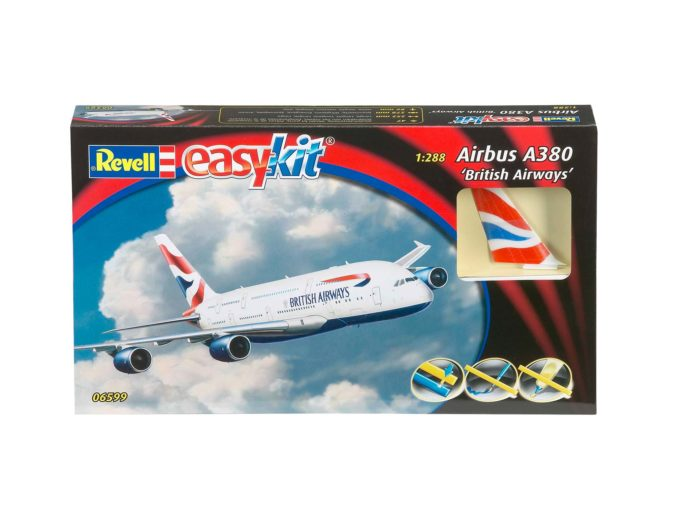 Revell 06599 Airbus A380 British Airways easykit