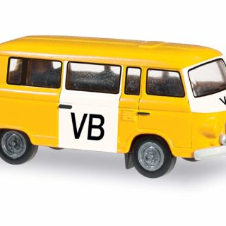 Herpa 066358 Barkas B 1000 Bus VB polizia (CZ)