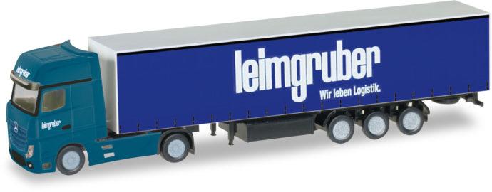 """Herpa 066785 Mercedes Benz Actros """"leimgruber"""