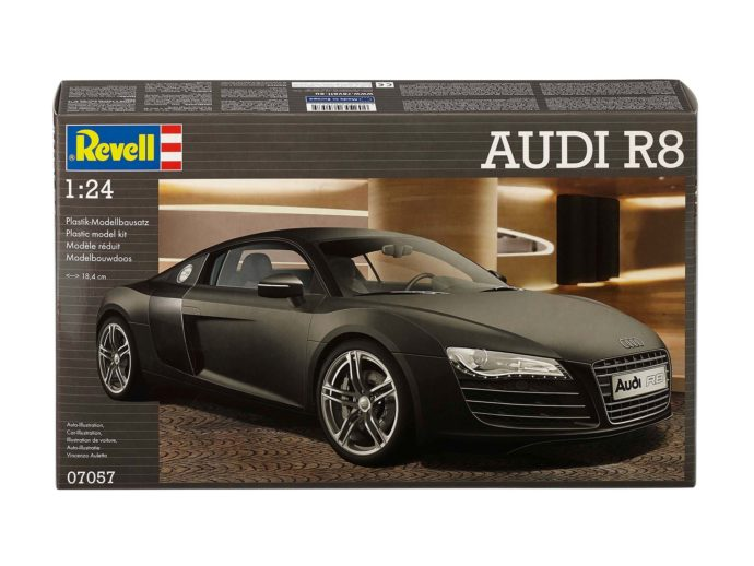 Revell 07057 Audi R8 black