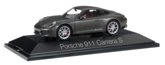 Herpa 070973 Porsche 911 Carrera S Coupé 991 II