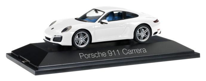 Herpa 071017 Porsche 911 Carrera Coupé 991 II