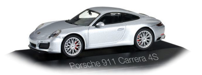 Herpa 071055 Porsche 911 Carrera 4S Coupé