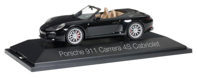 Herpa 071062 Porsche 911 Carrera 4S Cabriolet