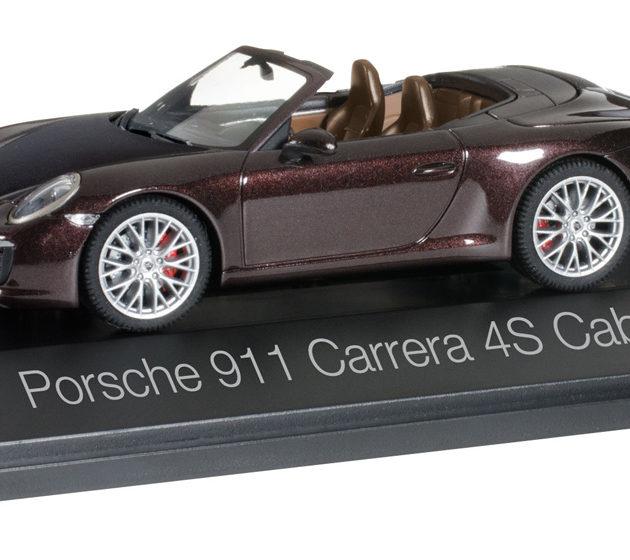 Herpa 071079 Porsche 911 Carrera 4S Cabriolet