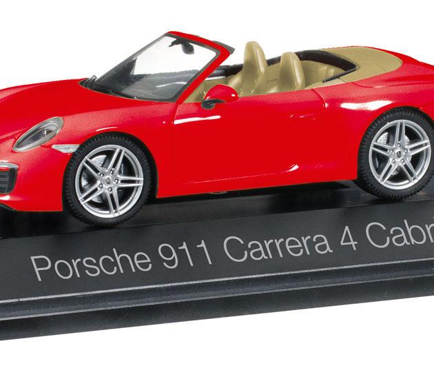 Herpa 071109 Porsche 911 Carrera 4 Cabriolet