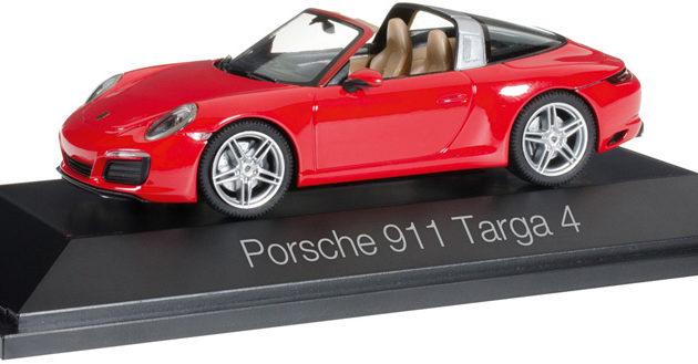 Herpa 071147 Porsche 911 Targa 4