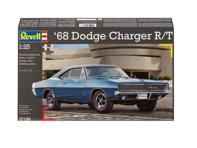 Revell 07188 1968 Dodge Charger (2n1)