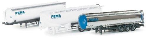 """Herpa 076159 SET CISTERNE """"PEMA"""""""