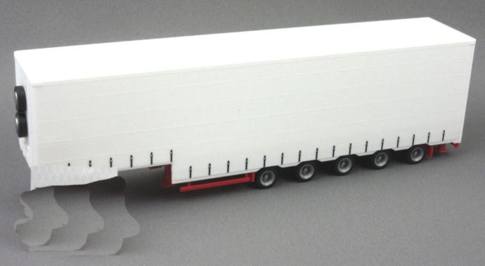 Herpa 076265 RIMORCHIO VOLUME TRAILER 5