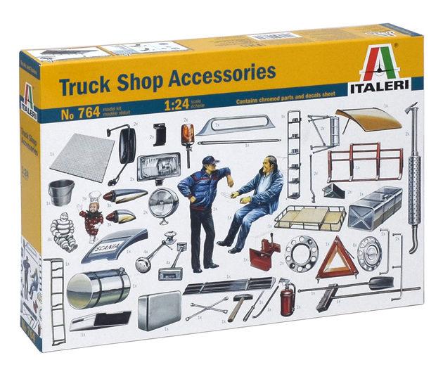 ITALERI 0764 Truck Shop Accessories