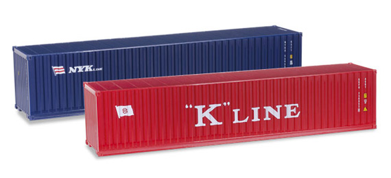 Herpa 076449-003 Set-container  40' (2 pezzi)