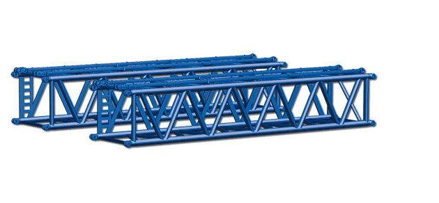 Herpa 076593 2 Tralicci x Liebherr LR 1600/2