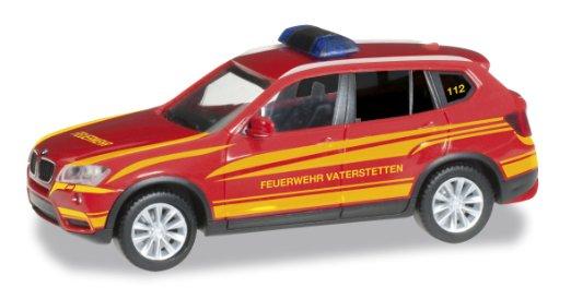 "Herpa 092050 BMW X3 ""comando pompieri"""