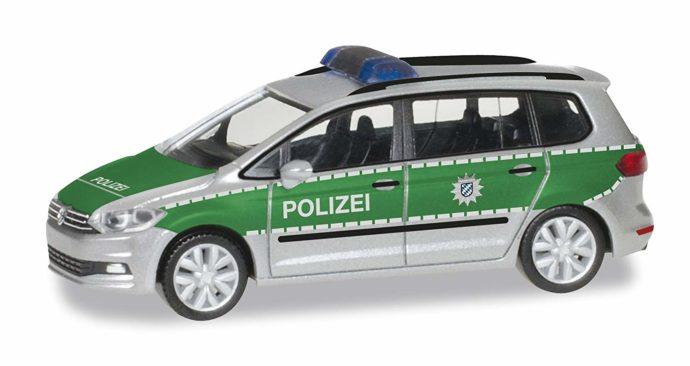"Herpa 092104 VW Touran ""Polizia Bayern"""