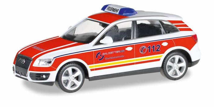 """Herpa 092661 Audi Q5 ELW """"Pompieri l"""""""