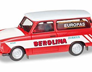 "Herpa 092739 Trabant 601 Universal ""Circo Berolina"""