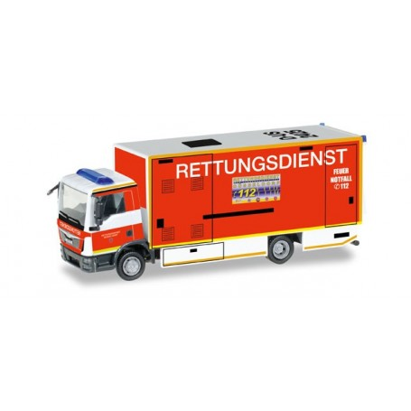 "Herpa 092807 MAN TGL S/I-RTW ""Pompieri Dusseldorf"""