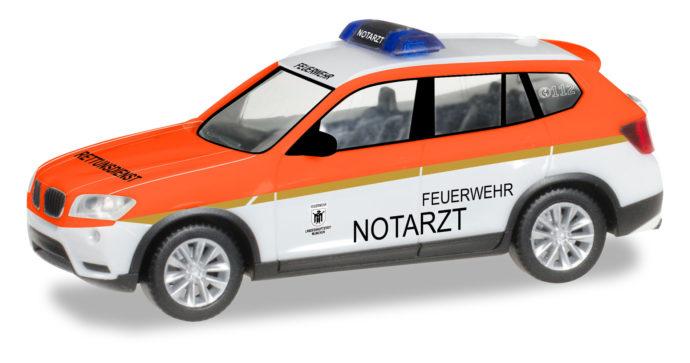 """Herpa 093378 BMW X3 """"Pompiere Monaco"""""""