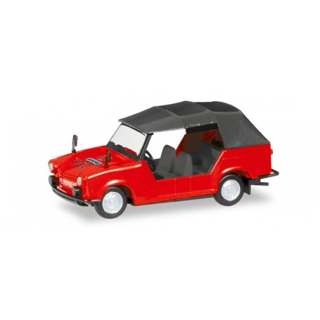 "Herpa 093460 Trabant 601 ""Pompieri LEAG"""