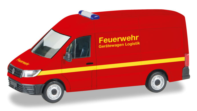 Herpa 093477 VW Crafter  pompieri
