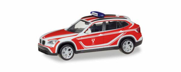 """Herpa 093552 BMW X1 """"Pompieri"""""""