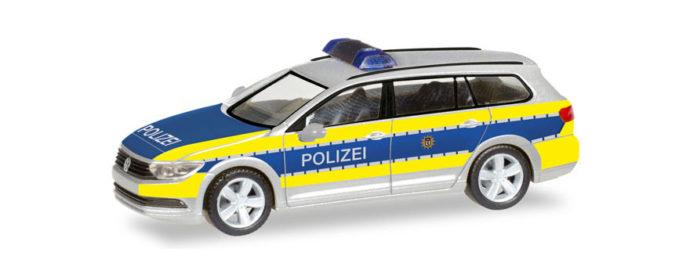 "Herpa 093569 VW Passat Variant ""Polizia Berlino"""