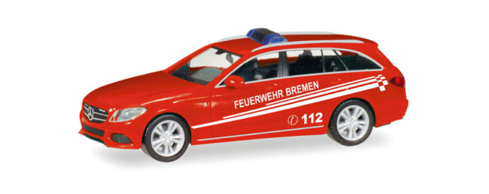 "Herpa 093583 Merceds Benz Classe C ""Pompieri"
