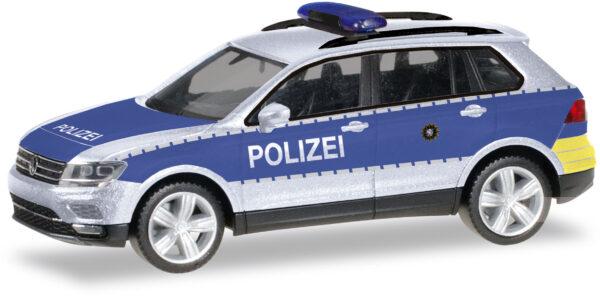 Herpa 093613 VW Tiguan Polizia Wiesbaden