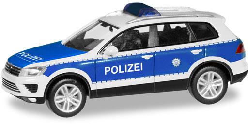 Herpa 093637 VW Touareg Polizia