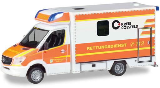 Herpa 093675 MB Sprinter '13 Fahrtec RTW