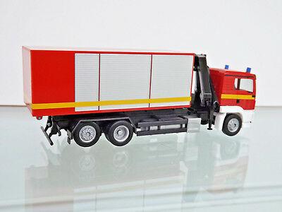 Herpa 093705 MAN TGS L Autocarro con cassone ribaltabile  gru