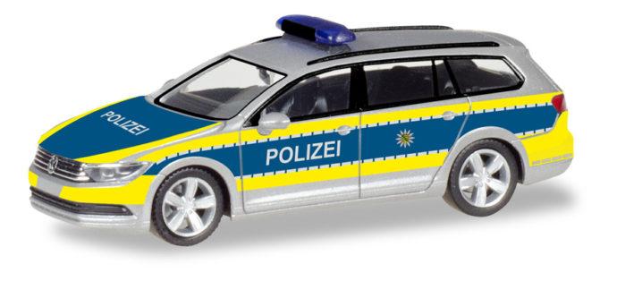 """Herpa 093828 VW Passat Variant  """"Polizia Sachsen"""""""