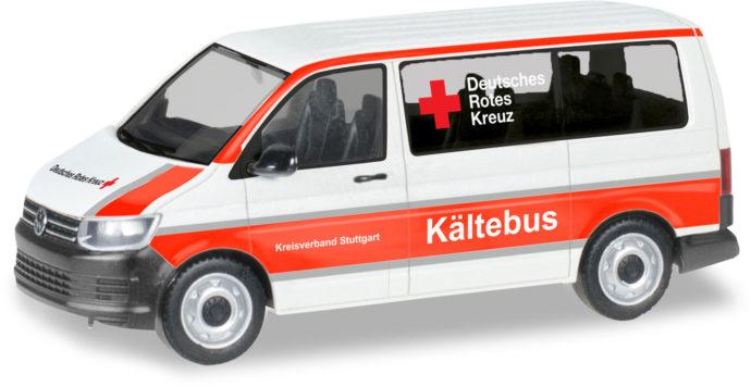 "Herpa 093859 VW T 6 Bus ""drk Stuttgart"""