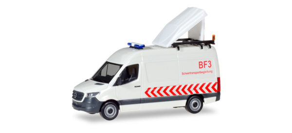 Herpa 093880 Merceds Benz Sprinter '18 Kasten Hochdach