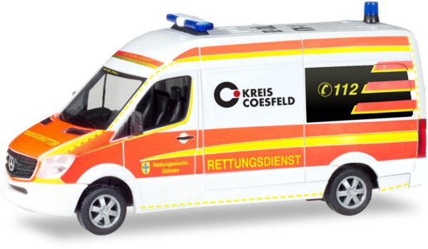 Herpa 093934 Mercedes Benz Sprinter '13 Bus Hochdach