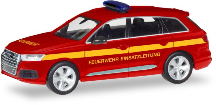 """Herpa 093965 Audi Q 7 """"Pompieri Eisatzleitung£"""