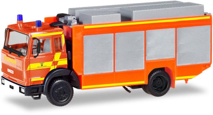 Herpa 093996 Iveco Magirus pompieri rosso