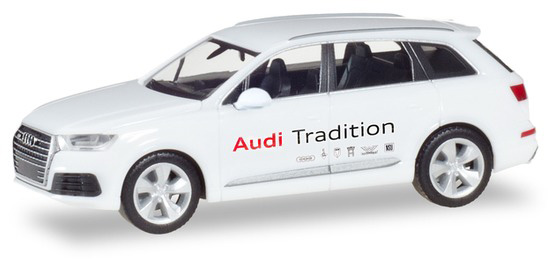 "Herpa 094085 Audi Q7 ""Audi Mobile Tradition"""