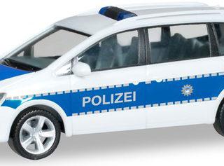"Herpa 094283 VW Passat Sharan ""Polizia"""