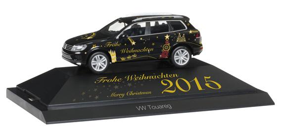 "Herpa 101950 VW Touareg ""Natale 2015"""
