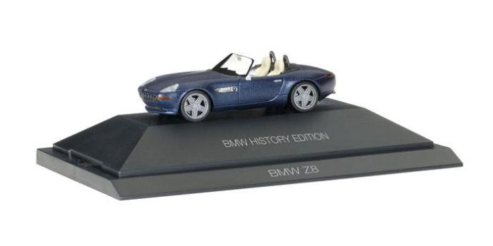 """Herpa 102063 BMW Z8 GTR """"BMW History Edition"""""""