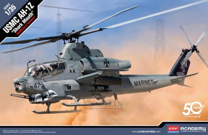 """Academy 12127 USMC AH-1Z """"Shark Mouth"""""""