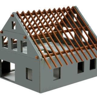 """Herpa 158800 Casa in costruzione """"Rohbau"""""""