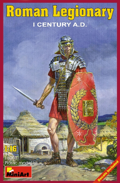 MINIART 16005 Roman Legionary. I Century A.D.
