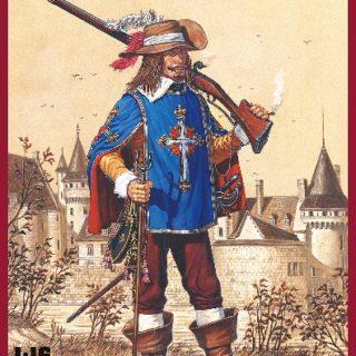 MINIART 16009 French Musketeer. Xvii C.