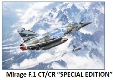ITALERI 2790 Mirage F 1 CT/CR