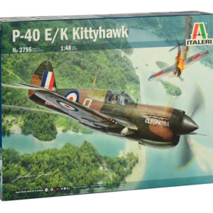 ITALERI 2795 P-40E/K Kittyhawk super decal per 6 versioni