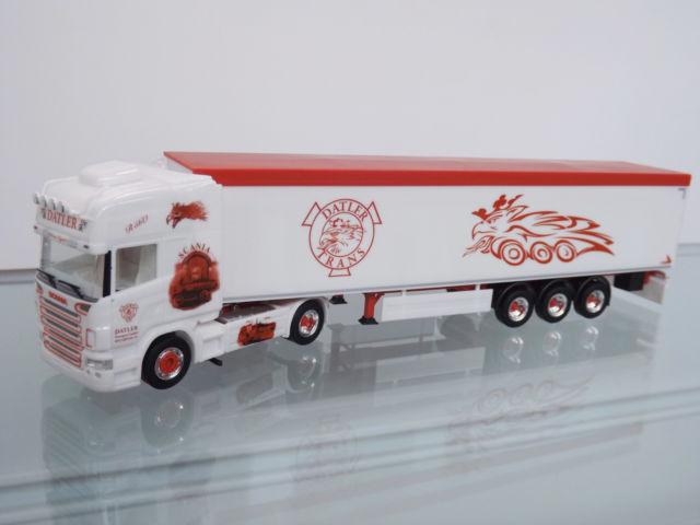 "Herpa 305808 Scania R 04 semirimorchio "" Datler"""