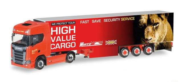 "Herpa 306751 Scania CS20 HD ""Wirtz"""